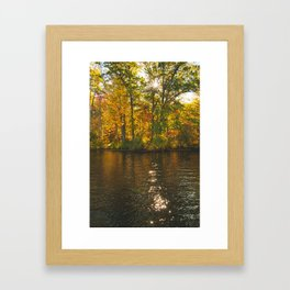 Fall Is In Session Framed Art Print