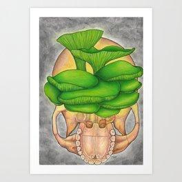 Jack O' Lantern Art Print