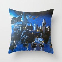 Gogwarts Throw Pillow
