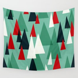 Abstract Forest by Friztin Wall Tapestry