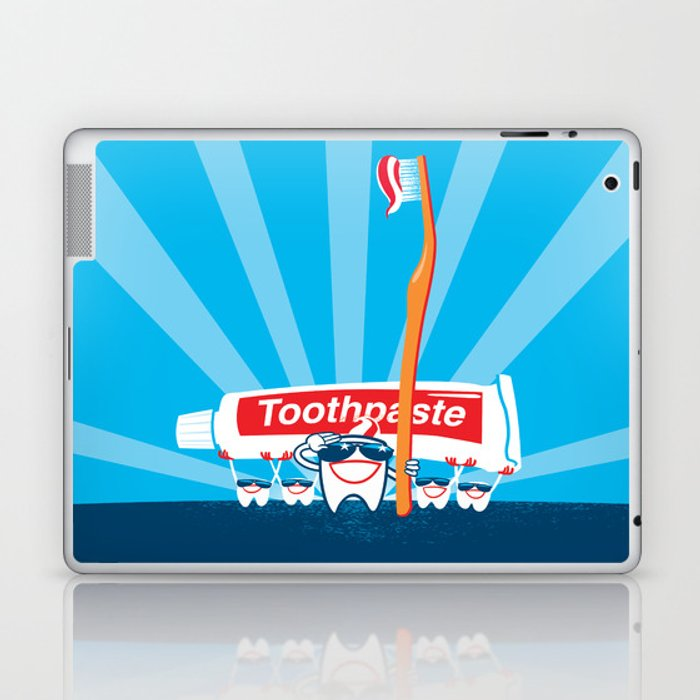 Teeth on Parade Laptop & iPad Skin