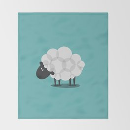 SHEEP Throw Blanket