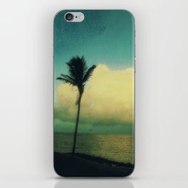 sunset solo iPhone Skin