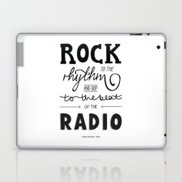 Kings of Leon hand-lettered print Laptop & iPad Skin