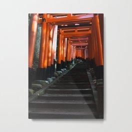 Fushimi Inari Taisha Metal Print