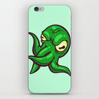 cthulhu iPhone & iPod Skins featuring Cthulhu by Artistic Dyslexia
