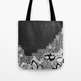 Botanical Doodle 1/3 Tote Bag