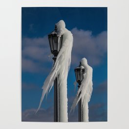 ice lamp ladies Poster
