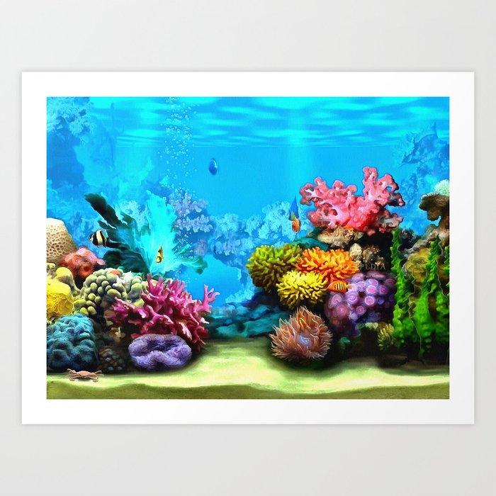 Marine Life Kunstdrucke