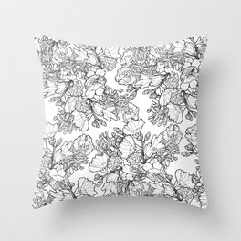 Ink to Paper - Silent Wilderness Throw Pillow