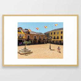 Villalpando Plaza Framed Art Print