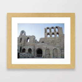 Greece - Athens Framed Art Print