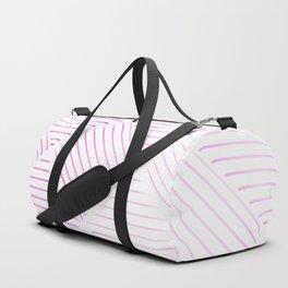 Diagonal Stripes Background 38 Duffle Bag