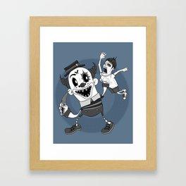 AFTER THE LAUGHTER  Framed Art Print