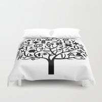 math Duvet Covers featuring math by store2u