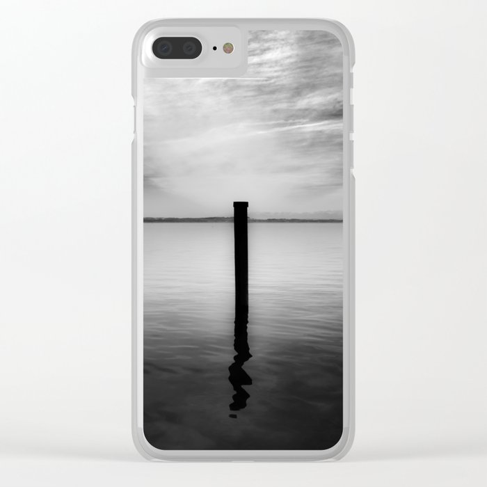 Lake and Swan. Landscape Photography. Clear iPhone Case