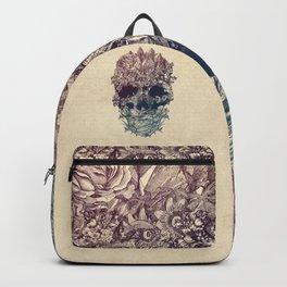 Skull Floral Backpack