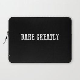 Dare Greatly Man In The Arena Quote, Teddy Roosevelt Inspirational Quote Laptop Sleeve