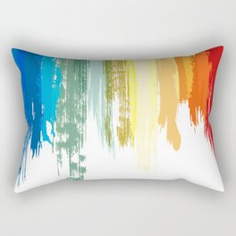 Colour Brushes Rectangular Pillow