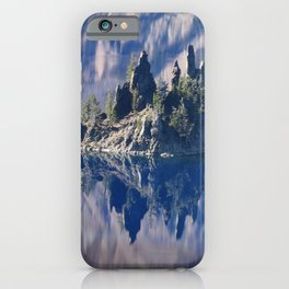 Ghost Ship, Creepy Crater Lake iPhone Case