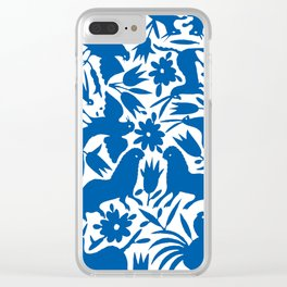 otomi blue Clear iPhone Case