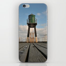 Whitby pier iPhone Skin
