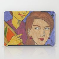pixies iPad Cases featuring Gigantic by Anna Gogoleva