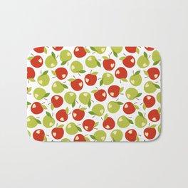 Bitten apples Bath Mat