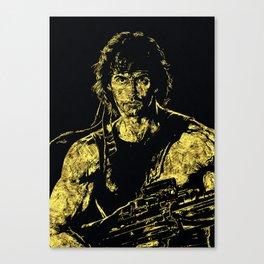 John Rambo - The Legend Canvas Print