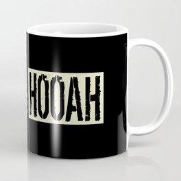Hooah (Black Flag) Coffee Mug