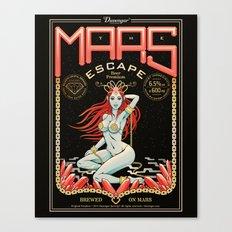 the mars escape Canvas Print