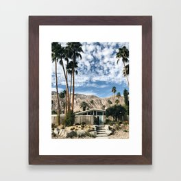 Home Sweet Home / Palm Springs Framed Art Print