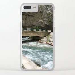 Stone bag Clear iPhone Case