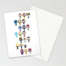 90's 'X-men' Robotics Stationery Cards