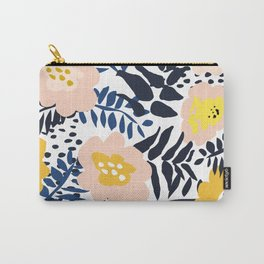 Outdoor: florals matching to design for a happy life Carry-All Pouch