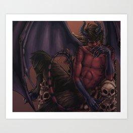 Spook Demon Art Print