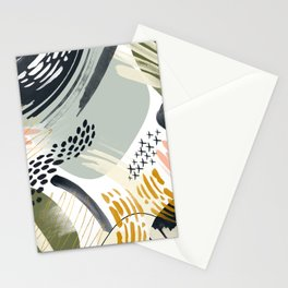 Abstract autumn season Stationery Cards