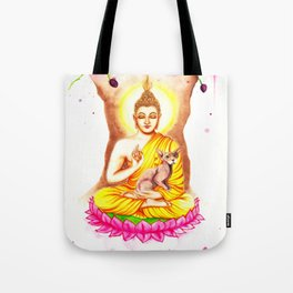Buddha and Dobby Tote Bag