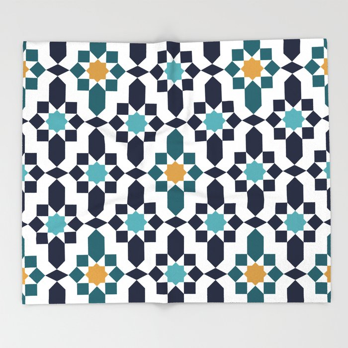 Moroccan Style Pattern Throw Blanket By Patternmaker Society60 Best Moroccan Design Pattern
