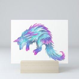 Celestial Wolf Mini Art Print
