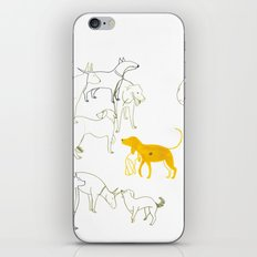 DOGS iPhone & iPod Skin