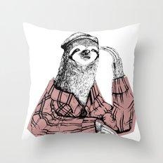 Perezoso Throw Pillow