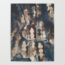 Abstract Finial Print Poster