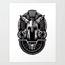 Spartan - BMXKings Art Print
