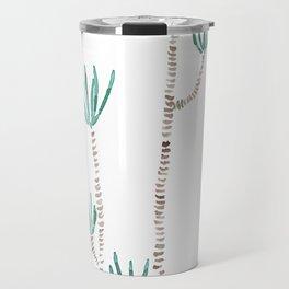 indoor palm tree watercolor Travel Mug