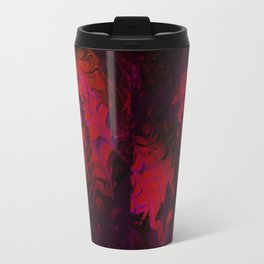 Hidden Face in the Red Travel Mug