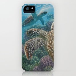 Sea Turtles - Turtle Bay iPhone Case