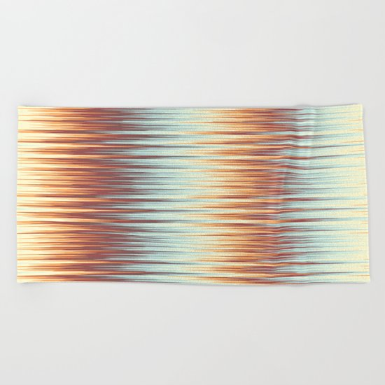Abstract 389 Beach Towel