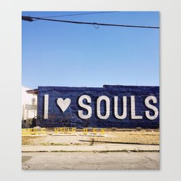 I <3 Souls Canvas Print