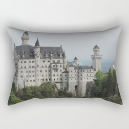 Neuschwanstein Castle (Schwangau, Germany) Rectangular Pillow